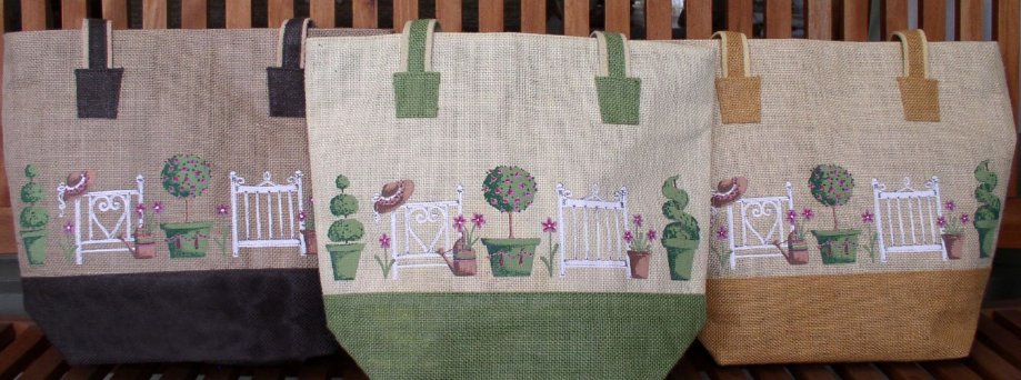 Garden Gates Tote With Zip
