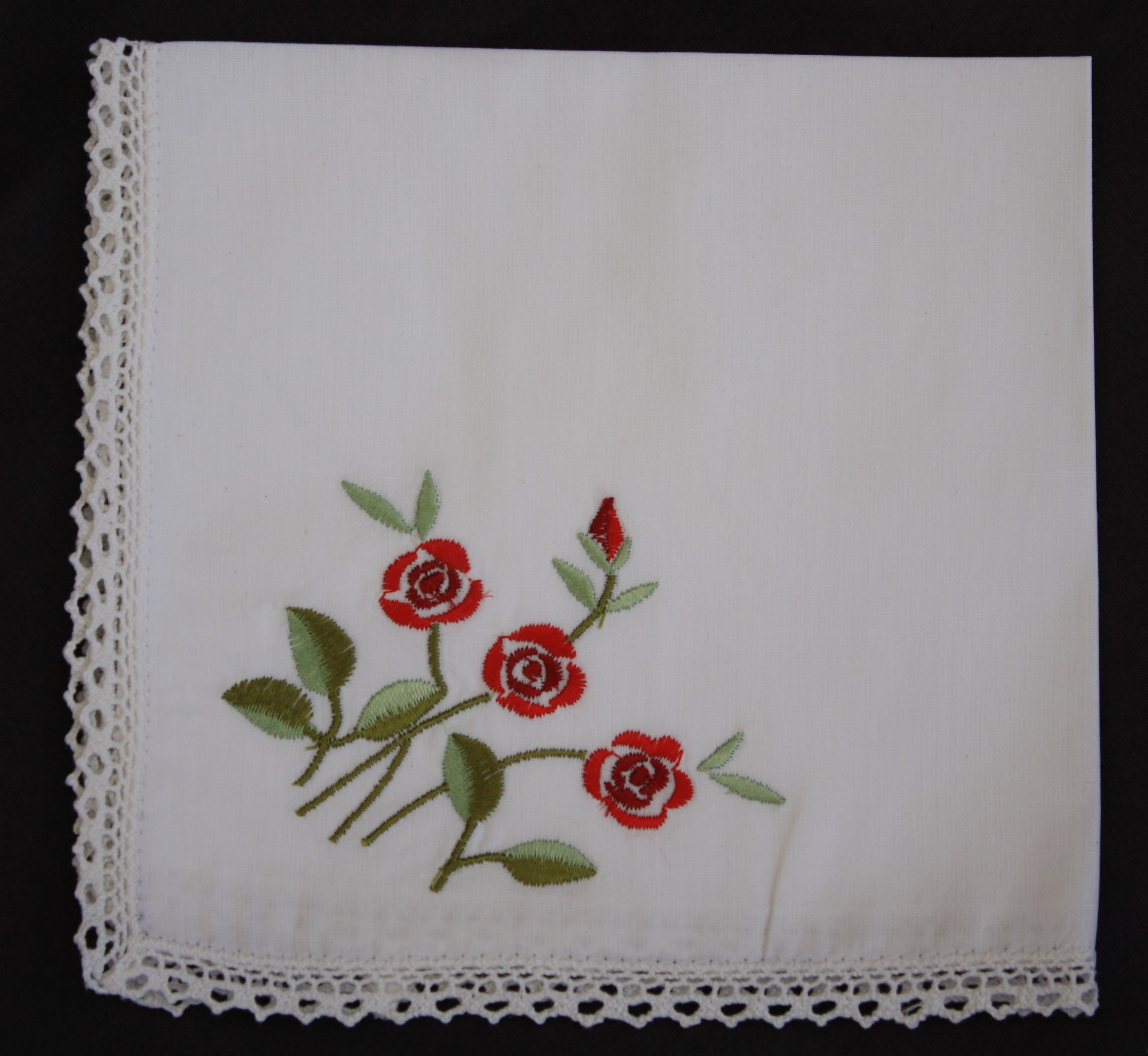 Embroidered Handkerchiefs - Single