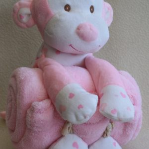 Baby Blanket With Large Plush Toy
