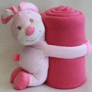 Baby Blanket With Toy