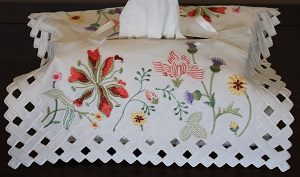 Tissue Box Cover - Grandi Flora