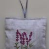 Lavender Embroidered Sachet (filled) 14x14cm
