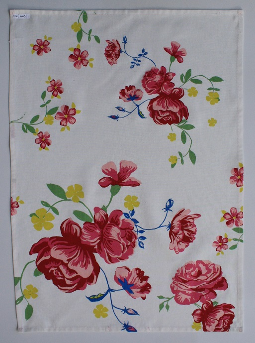 In Bloom Tea Towel - Placement Print