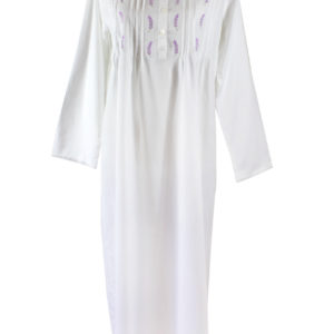 Sweet Dreams Long Sleeve Nightgown - Lavender Tucks