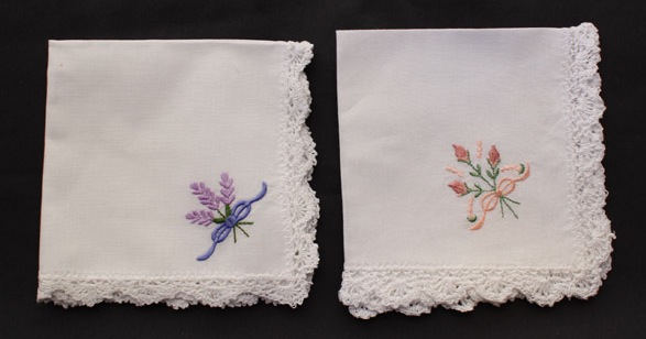 Handkerchief Embroidered