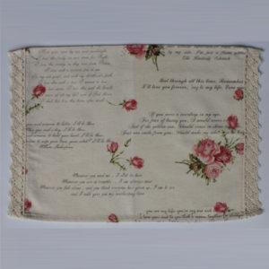 Placemat - Love Letters